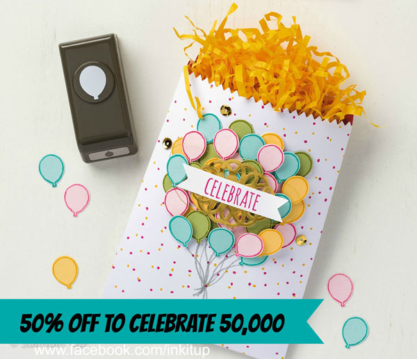 Celebrate 50,000 in Facebook Community with 50% OFF One Sheet Wonder Classes