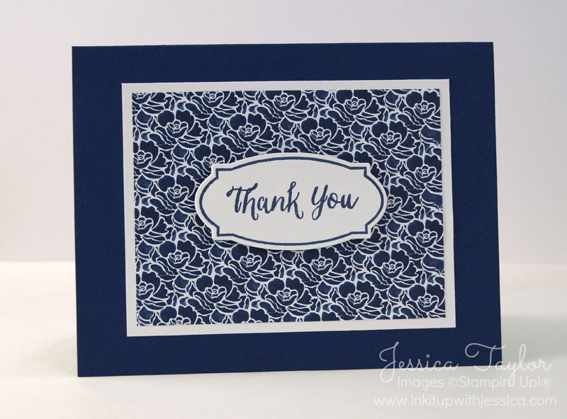 Floral Boutique Thank You Cards