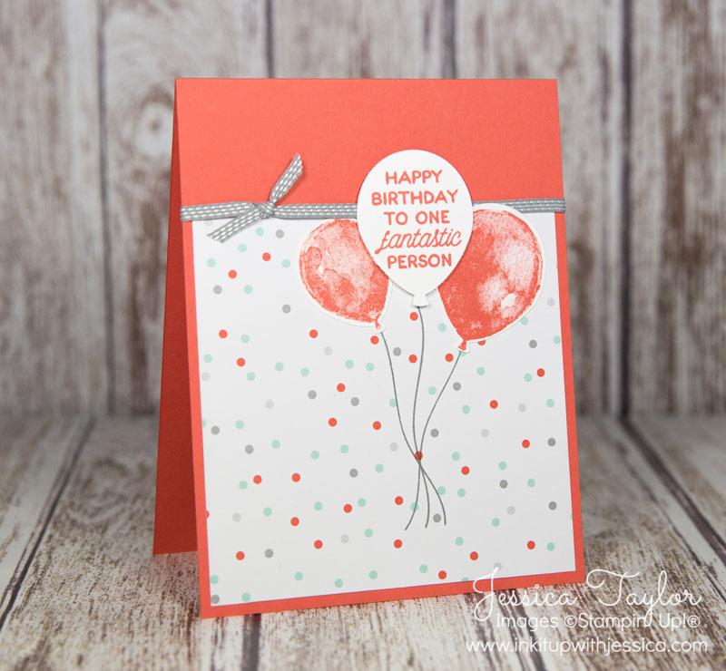 Balloon Builder Birthday Card