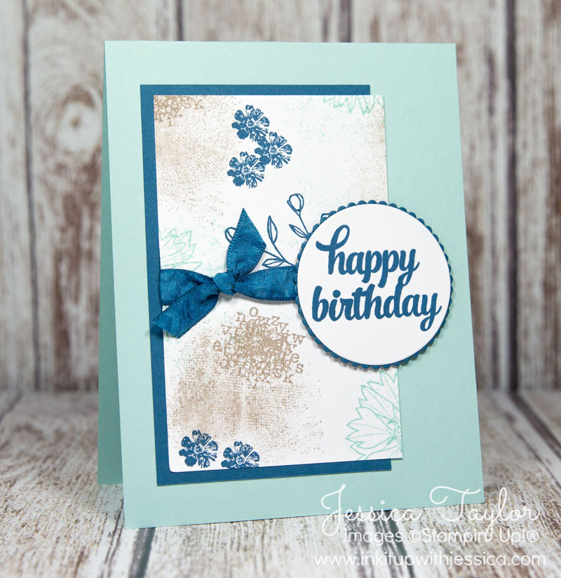 Touches of Texture Birthday Card