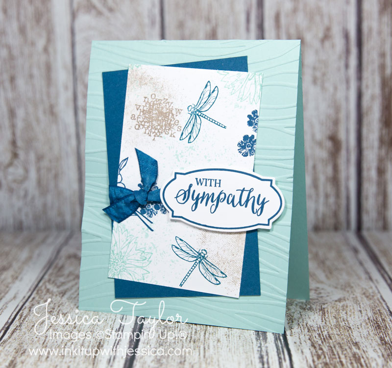 Touches of Texture Sympathy Card
