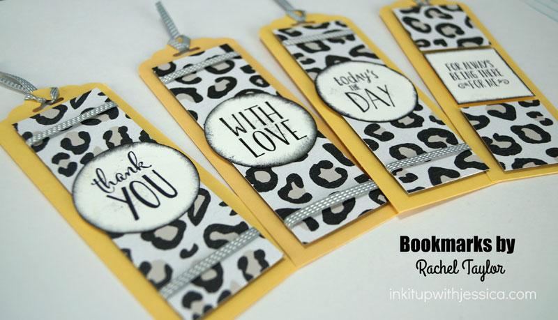 Animal Print Bookmarks