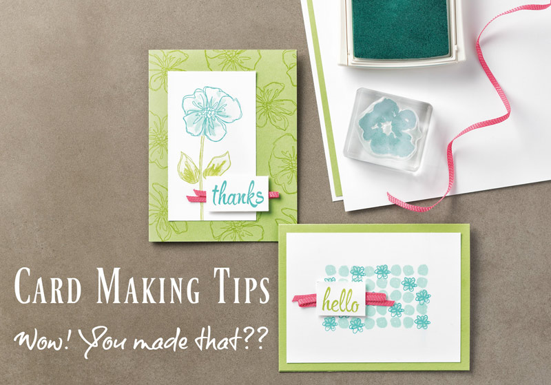 Card Making Tips