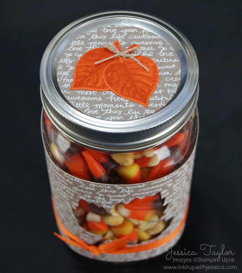 Autumn Jar Lid