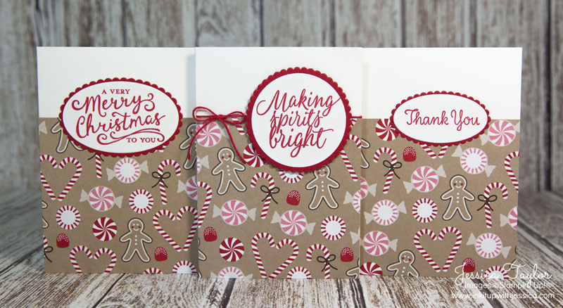 Quick Christmas Note Cards
