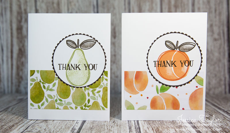 Fresh Fruit Thank You Cards