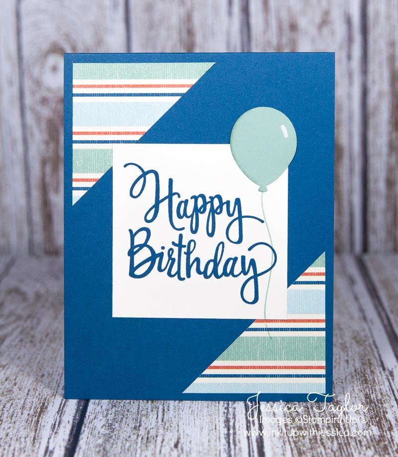Stylized Birthday Card