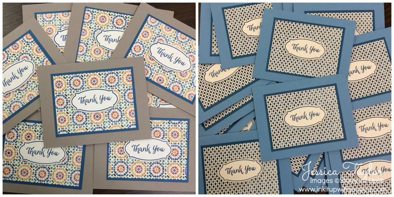 Easy Moroccan Thank You Cards