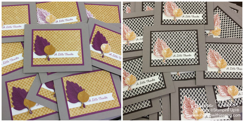 Fall Moroccan Thank You Cards