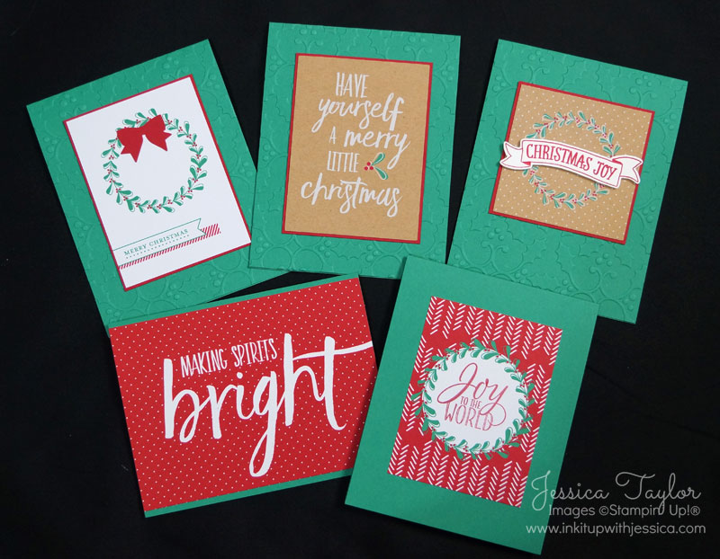 Project Life Christmas Cards