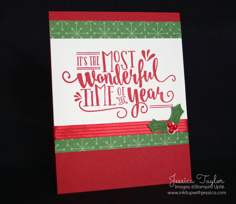 Wonderful Year Christmas Card