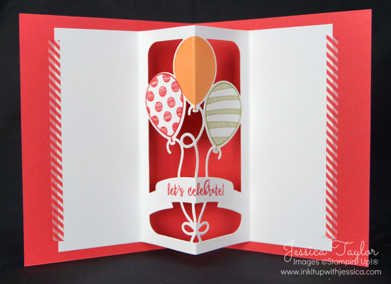 Balloon Pop-Up Thinlits Card