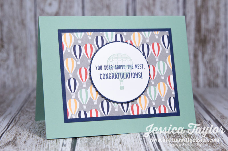 Lift Me Up Congratulations Card