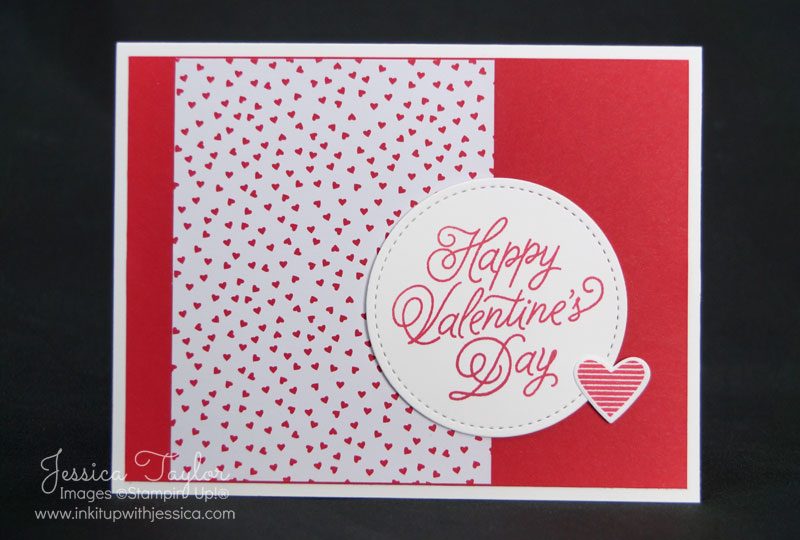Sending Love Valentine Card