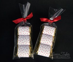 Valentine Candy Treat Bags