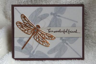 Dragonfly Card by Amanda Gardner