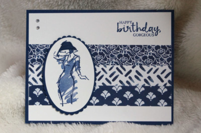 Beautiful You Card by Cathy Miller
