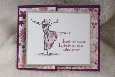 Beautiful You Card by Daveda Leppke
