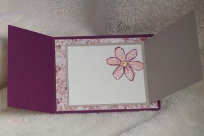 Inside of Beautiful You Card by Daveda Leppke