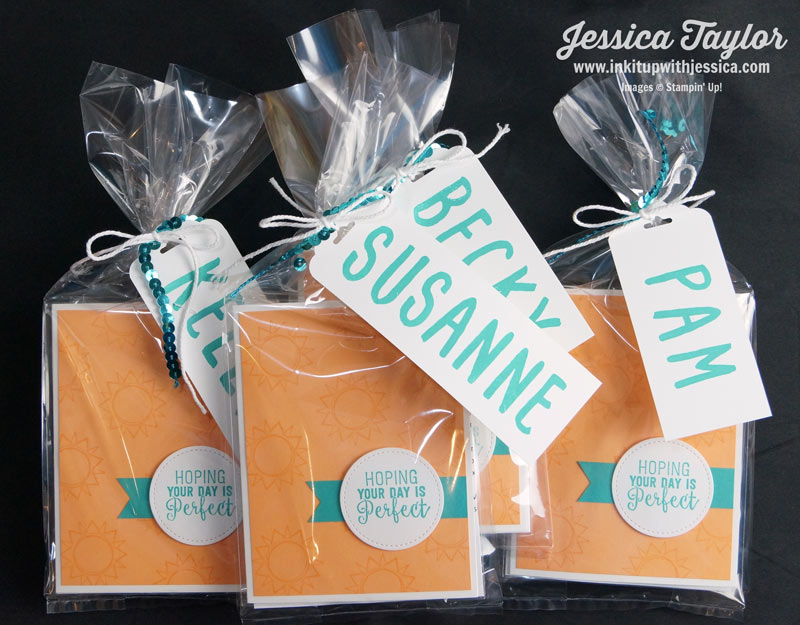 Personalized Gift Tags on Gifts
