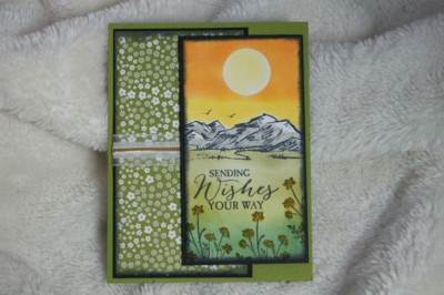Sending Wishes Card