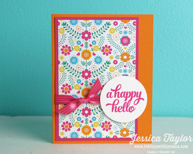 Festive Happy Hello Card