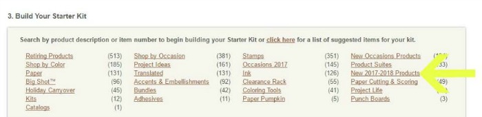 Order NEW products in your Starter Kit!