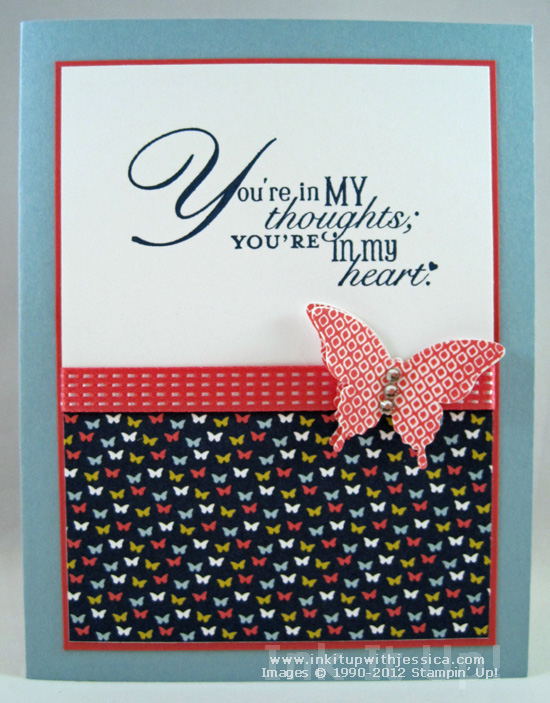 card making ideas thinking of you
